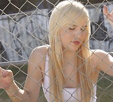 Sinda Fenced In Graffitti # 1 by tmac