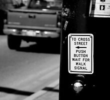 Push To Cross... by Jess Fleming
