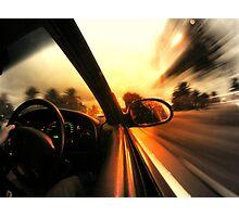Speed... Photographic Print