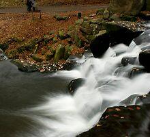 Virginia Waters cascades III by simonj