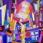City Nightlights 3 by Franko Camue