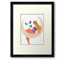 moonlight childrens dreams Framed Print