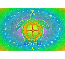 World Turtle Photographic Print