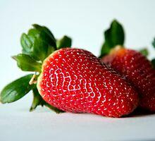 Strawberry #2 by Kasia Fiszer