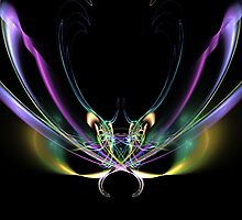 Dragonfly Apophysis by Virginia N. Fred