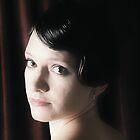 Self portrait  by Sarah Crowe