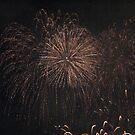 Fireworks at Malta by Rosalie M