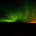 Aurora in Reykjanes Peninsula #2 by Stefán Kristinsson
