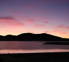 White Lake Sunset by ardwork