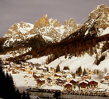 Mountian Village by HelmD