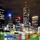 Brisbane City Lights by Jude Glenn