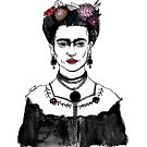 Frida Kahlo by burntfeather