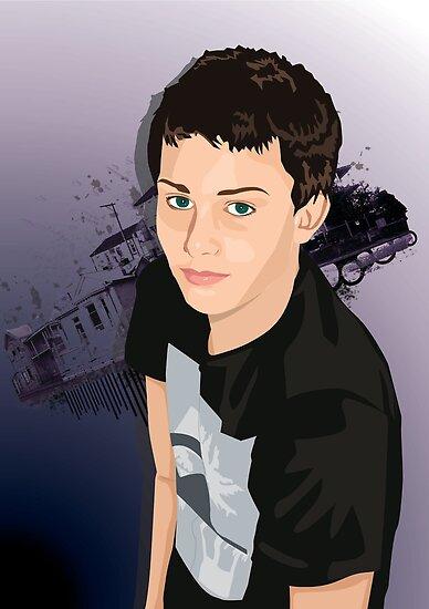 Teen Boy Vector Study by shanmclean