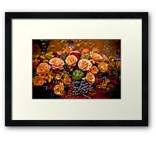 Decadence Framed Print