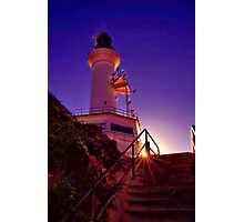 """""""Stairway to the Light"""" Photographic Print"""