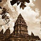 Prambanan Temple - Yogyakarta, Indonesia by Stephen Permezel