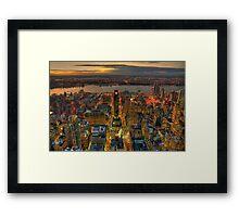 Midtown West Framed Print