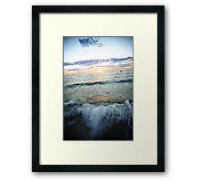 Waves Of Terror Framed Print