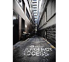 24 Hour Access Photographic Print