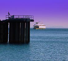 Ferry Crossing ~ Port Townsend, Washington ~ by lanebrain photography