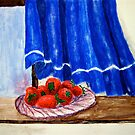 Strawberries-Still life by JamieLA