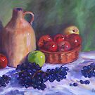 A Still Life of Fruit by Richard Nowak