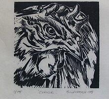 chook (chicken) 2009 by rubyvictoria