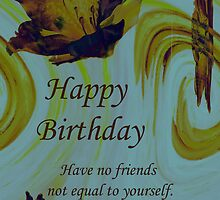 Friends Birthday by Terri Chandler