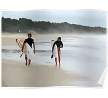 Surfer Love  Poster