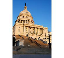 U. S. Capitol West Face  Photographic Print