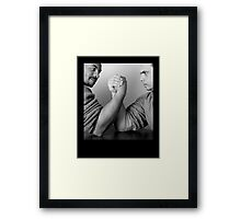 Balance of Power Framed Print