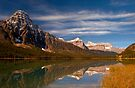 Waterfowl Lakes, reflection, Icefields Parkway NP, Alberta, Canada. by photosecosse /barbara jones