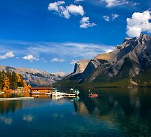 Lake Minnewanka. Banff National Park, BC, Canada. by photosecosse /barbara jones