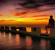 Merewether Ocean Pool by monkeyfoto