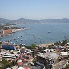 Acapulco from the Casablanca Hotel by Allen Lucas