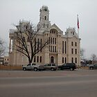 Hill County TX Courthouse by plsphoto