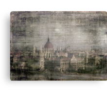 Faded Memories-Budapest Canvas Print