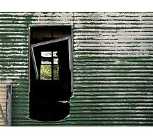 Doorway to a Forgettable Past Photographic Print