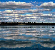Lake Kenyan, Victoria. by Ern Mainka
