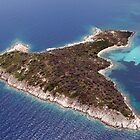 Small island, aerial view by airphoto-gr