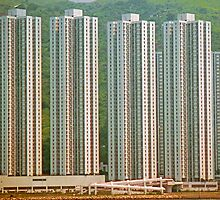 High Density High Rise, Hong Kong. by Peter Stephenson