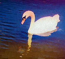 Pastoral swan by ♥⊱ B. Randi Bailey