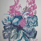 Cyclamen by AgnesZirini
