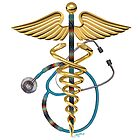 American Indian Caduceus and Stethoscope by John Guthrie