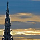 Grand Place at Sunset by Amy Dokken