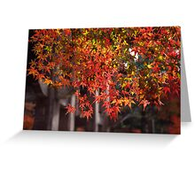 Patterned leaves 2 Greeting Card
