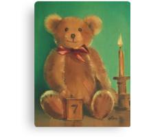 Ted E. Bear Canvas Print