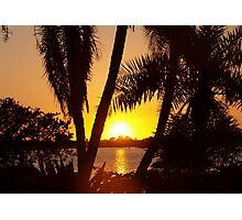 Big and bold sunset Photographic Print