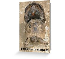 Enjoy Every Moment - Greeting Card Greeting Card
