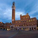 Tramonto, Il Campo, Siena  by David Clarke